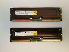 1GB Elpida PC800-40 (2x 512MB) RDRAM RAMBUS RIMM Lot 2