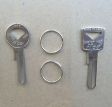 2 OLD SCHOOL KEY BLANKS! FORD GALAXIE T-BIRD FAIRLANE F-100 PICKUP EDSEL BRONCO