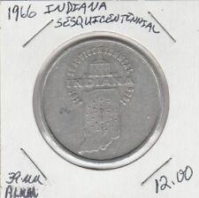 (M) Token - Indiana - Sesquicentennial - 1966 - 39 mm Alluminio