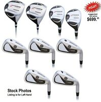 Womens Golf Full Set #1 Driver, #3 Wood, #4-5 Hybrids 6-7-8-9-PW Irons Left Hand