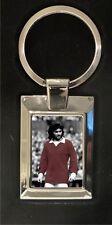 George Best Old Trafford - Man Utd FC - High polished metal keyring