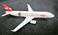 herpa LTU airbus 320 borussia mönchengladbach 1:500 in ovp aus sammlg selten!