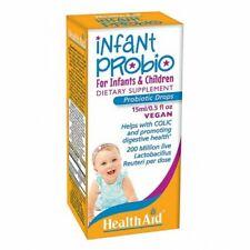 2x HealthAid Infant Probio - Drops 15ml