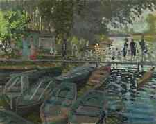 Claude Oscar Monet Bathers At La Grenouillere A3 Box Canvas