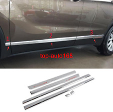 Chrome Body Side Molding Door Guard Cover Trim 6pcs For Buick Envision 2016-2020