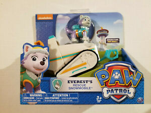 Paw Patrol Everest Rescue Snowmobile - New