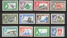 Gilbert & Ellice Islands GVI  1939 - 1955 LMM SG 43-54