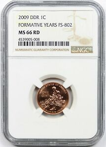 2009 DDR 1C NGC MS 66 RD (FS-802) Lincoln Formative Years