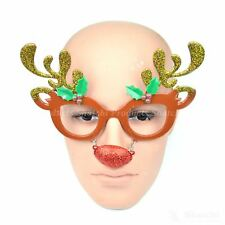 Adult Christmas Xmas Party Fun Novelty Glasses Fancy Dress Party Socking Fillers