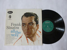 FRANK SINATRA ~ ALL THE WAY ~ ST 570 ~ QUALITY NEAR MINT 1961 UK JAZZ VINYL LP