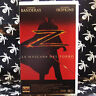 LA MASCARA DEL ZORRO (Martin Campbell) VHS . Antonio Banderas, Anthony Hopkins,