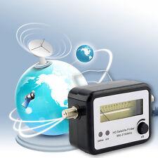 Digital Satellite Signal Finder Meter Compass FTA TV Signal Receiver & Finder LE