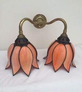 Christopher Wray Double Wall Light Tulip Design