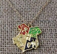 Harry Potter  Necklace Hogwarts Pendant Hogwarts Crest Logo