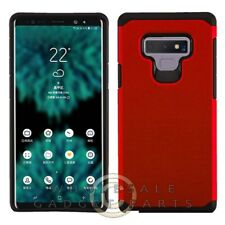 Samsung Note 9 Advanced Armor Case - Red/Black Case Cover Shell Shield
