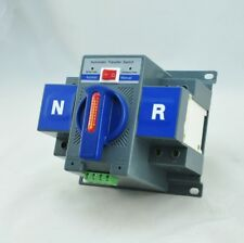 Automatic Transfer Switch ATS 2P 63A 230V MCB Type Dual Power Electric Reserve