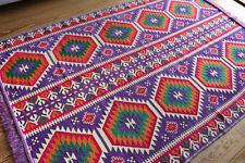 53 1/8in x 78 11/16in Oriental Rug, Kelim , Carpet from Damaskunst S 1-4-72