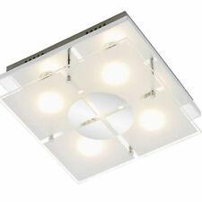 Briloner LED Deckenleuchte Wandleuchte, 4x250lm, 4x3 Watt, 3000K, IP20, EEK: A+