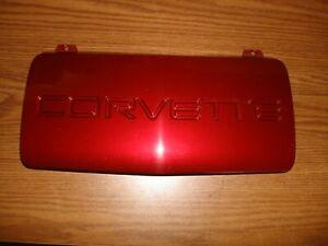 91-96 Corvette C4 Front License Plate Delete Panel Cover 10135973