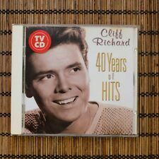 CLIFF RICHARD - 40 YEARS OF HITS