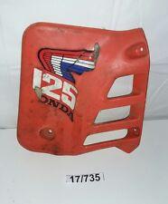 Plastica fianchetto anter sx Honda cr 125 anni 80 moto cross epoca carena  vinta