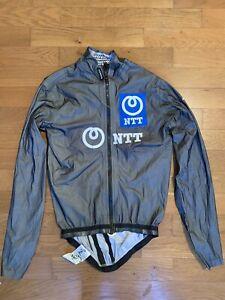 Assos Schlosshund rain Waterproof jacket pro Team NTT rider Gibbons rapha sworks
