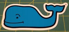 VINEYARD VINE WHALE BLUE STICKER DECAL SOUTHERN PROPER