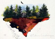 Frank Howell Sedona Landscape 83 Hand Signed Original Color Lithograph MAKEOFFER