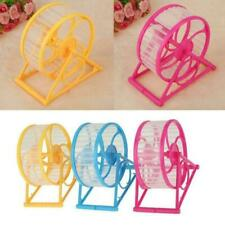 New listing Wheel Running Exercise Plastic Scroll Silent Hamster New Toy Pet