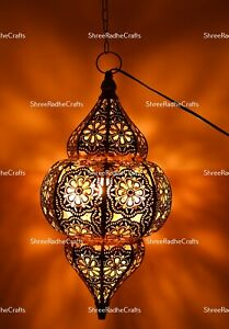 Moroccan Pendant Lights Turkish Vintage Hanging Home Decor Christmas Party Lamp