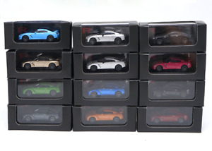 Kyosho 1/64 Alloy Die-casting car model NISSAN GT-R 12 colors Gift collection