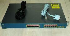 Cisco WS-C3560-24PS-S Network Switch 24 -Port PoE Latest IOS 1 YEAR Warranty