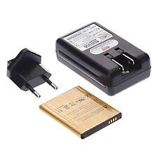 CARICA BATTERIA 220V+PILA 4000Mah per SAMSUNG GALAXY NOTE3 N9005 USB RETE TAVOLO