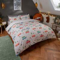 Sleepdown Festive Campervan Bedding Set  | Christmas Duvet Sets & Pillow Case's