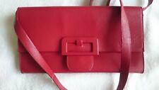MAISON MARTIN MARGIELA,Shoulderbag,Red,Size Medium,Genuine Leather,Made in Italy