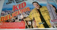 "KID DELICIOUS BILLIARDS BASAVICH SIGNED BIG PHOTOGRAPH 16"" X 11"""
