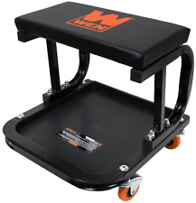 Rolling Creeper Seat Stool Garage Mechanic Chair Work Auto Shop Tool Tray Cart