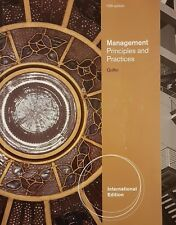 Management Principles and Practices 10th Edition Griffin 9780538467773