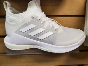 Women's Adidas CrazyFlight Mid Volleyball White (EF6526) Brand New in Box