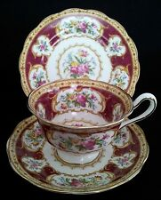 "ROYAL ALBERT TRIO ""LADY HAMILTON"" ENGLISH VINTAGE C1945-50"