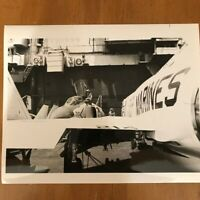 Marine Fighter Squadron 451 VMFA-451 on Aircraft Carrier USS Forrestal 6-26-1971