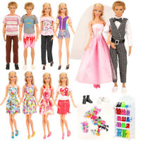 Barwa 23 Pcs Doll Clothes and Accessories,Great value for your baby!