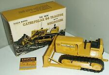 Vintage ESKA Co Caterpillar D6 Tractor With Bulldozer in Original box 1:24 Scale