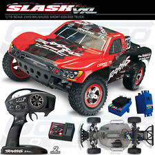 NEW Traxxas 1/10 Slash VXL 2WD RTR Short Course Truck Red *FREE US SHIPPING*