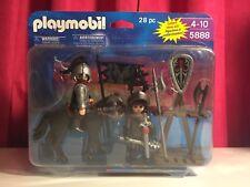 Playmobil 5888 NISP Wolf Knights Blister Set For Castle Retired