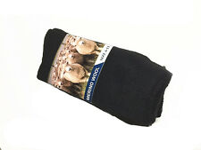 3 Pairs size 6-11 Australia Merino Wool Work Socks - Black ( Brand New)