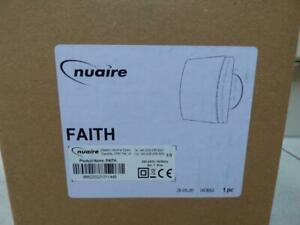 Brand New Nuaire Faith 240v extractor fan with himidistat time & Data logger.