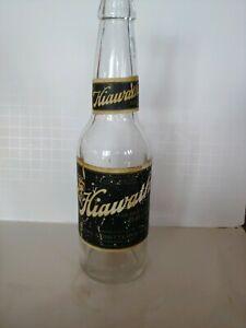 RARE Hiawatha Brew labeled bottle from Escanaba Michigan