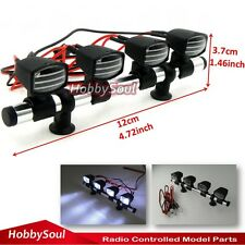 RC 1/10 Light Bar 4 Led Front light JR Plug 6~7.4V For AXIAL RC4WD Crawler Truck