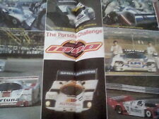 Porsche 1000 kms Challenge Silverstone 1987 Double page Motor Racing GP F1 Rally